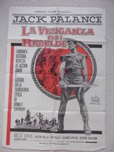 Barbarians (1960) - Jack Palance | Argentinian Movie Poster